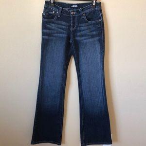 Rock & Republic Boot Cut Blue Jeans